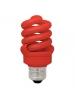 TCP 48913RD - 13 Watt Full Spring CFL - Red Light - 60W Equivalent